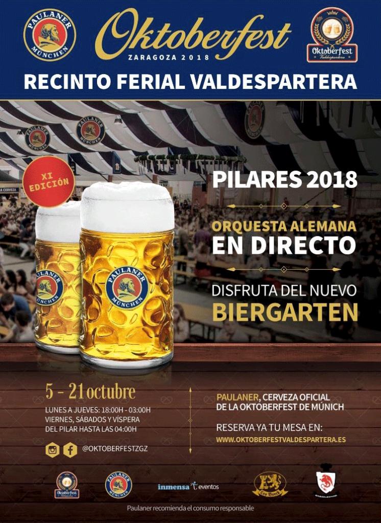 cartel opktoberfest Valdespartera 2018
