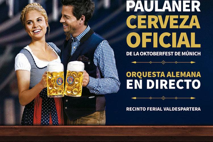 Paulaner cerveza oficial de la Oktoberfest Valdespartera