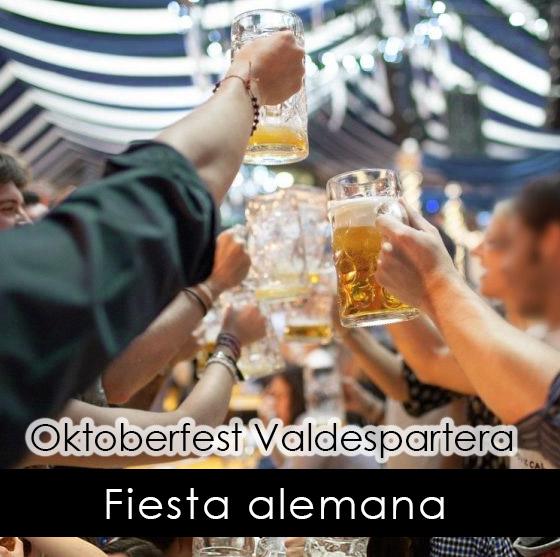 fiesta alemana en Zaragoza. Oktoberfest Valdespartera