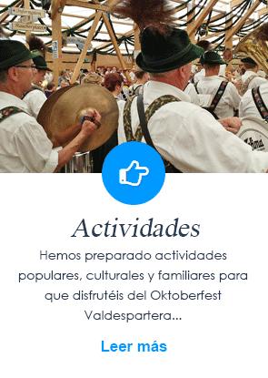 Actividades Oktoberfest Valdespartera