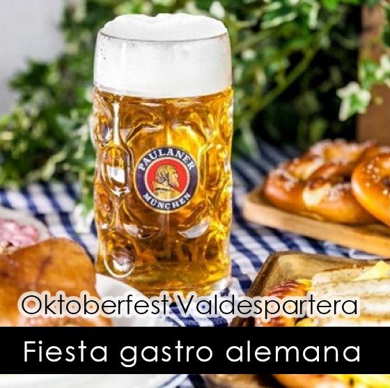 fiesta gastro alemana Oktoberfest Valdespartera