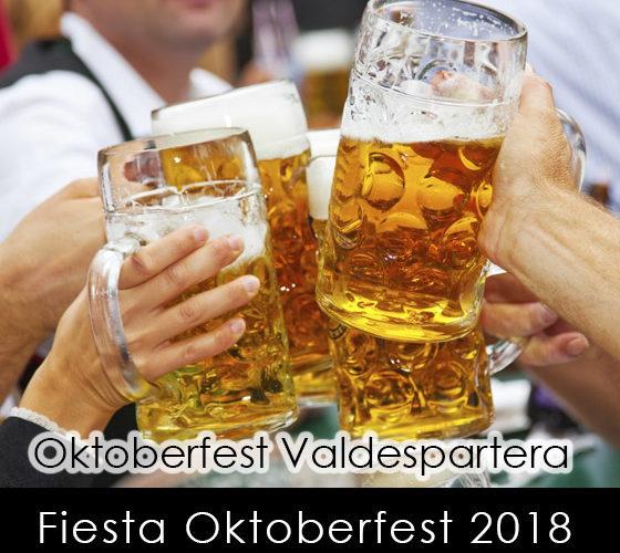 fiesta en la Oktoberfest Valdespartera Zaragoza