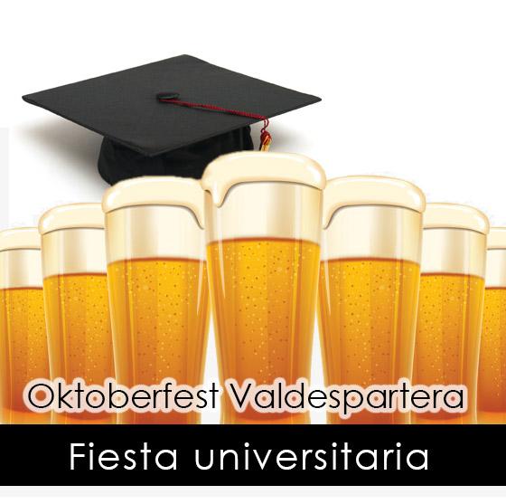 Fiesta universitaria Oktoberfest Valdespartera Zaragoza