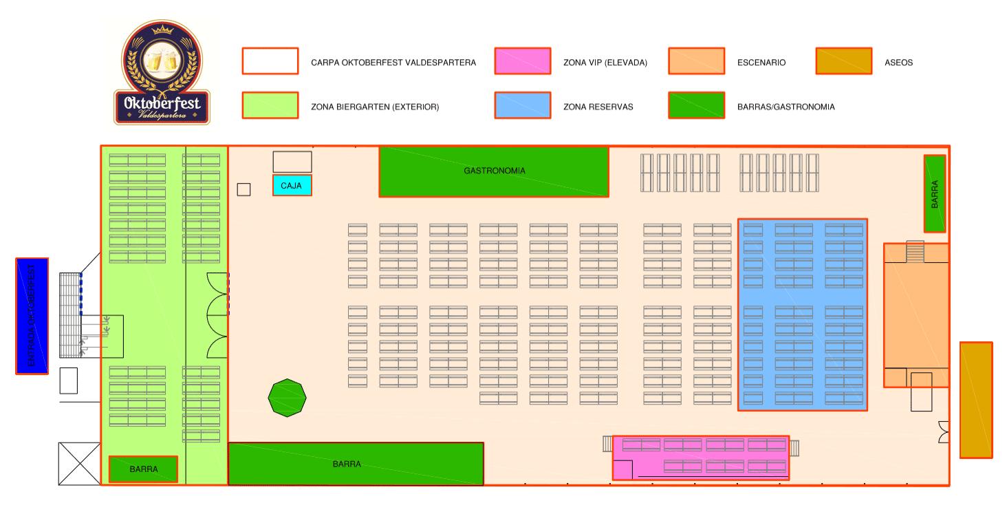 Plano carpa Oktoberfest Valdespartera
